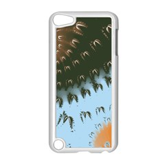 Sun Ray Swirl Design Apple Ipod Touch 5 Case (white)