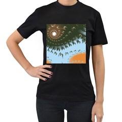Sunraypil Women s T Shirt (black)