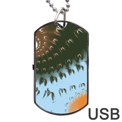 Sunraypil Dog Tag Usb Flash (two Sides)