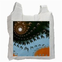 Sun-Ray Swirl Pattern Recycle Bag (Two Side)