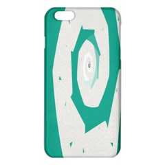 Aqua Blue And White Swirl Design Iphone 6 Plus/6s Plus Tpu Case