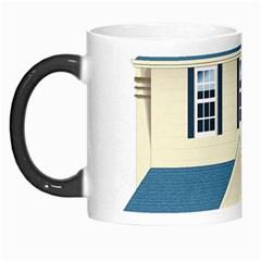 House Residence Blue Morph Mugs