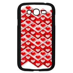 Love Hearts Valentine S Day Pink Samsung Galaxy Grand DUOS I9082 Case (Black)