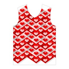 Love Hearts Valentine S Day Pink Men s Basketball Tank Top