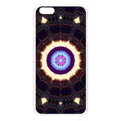 Mandala Apple Seamless iPhone 6 Plus/6S Plus Case (Transparent)