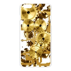 Mechanical Steampunk Apple Seamless iPhone 6 Plus/6S Plus Case (Transparent)