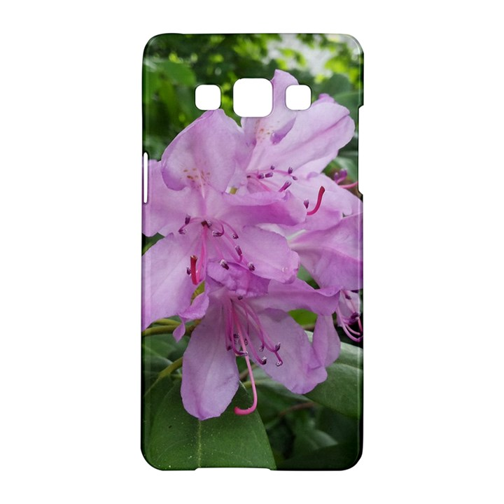 Purple Rhododendron Flower Samsung Galaxy A5 Hardshell Case
