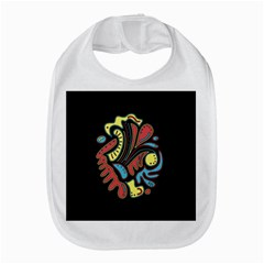 Colorful abstract spot Bib