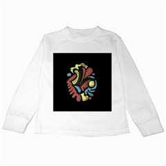 Colorful abstract spot Kids Long Sleeve T-Shirts