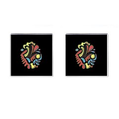 Colorful abstract spot Cufflinks (Square)