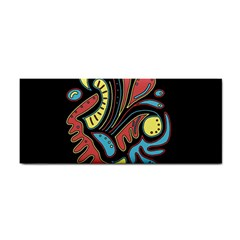 Colorful abstract spot Hand Towel