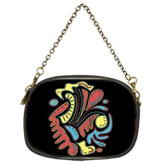 Colorful abstract spot Chain Purses (Two Sides)