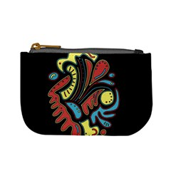Colorful abstract spot Mini Coin Purses