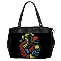 Colorful abstract spot Office Handbags