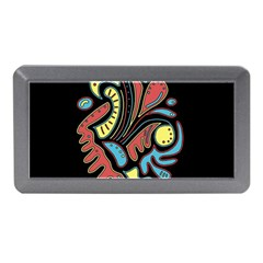 Colorful abstract spot Memory Card Reader (Mini)
