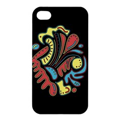 Colorful abstract spot Apple iPhone 4/4S Hardshell Case