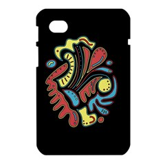 Colorful abstract spot Samsung Galaxy Tab 7  P1000 Hardshell Case