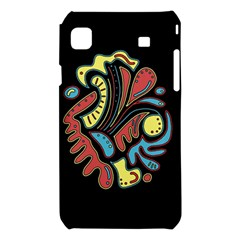Colorful abstract spot Samsung Galaxy S i9008 Hardshell Case