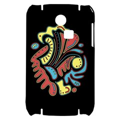 Colorful abstract spot Samsung S3350 Hardshell Case
