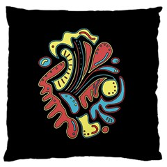 Colorful abstract spot Large Cushion Case (Two Sides)