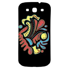 Colorful abstract spot Samsung Galaxy S3 S III Classic Hardshell Back Case