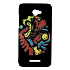 Colorful abstract spot HTC Butterfly X920E Hardshell Case