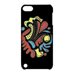 Colorful abstract spot Apple iPod Touch 5 Hardshell Case with Stand
