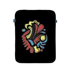 Colorful abstract spot Apple iPad 2/3/4 Protective Soft Cases