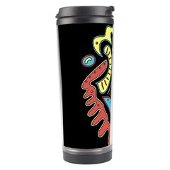 Colorful abstract spot Travel Tumbler