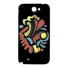 Colorful abstract spot Samsung Note 2 N7100 Hardshell Back Case