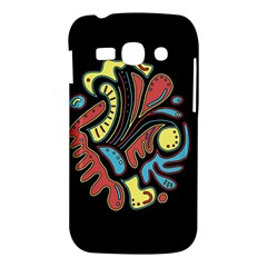 Colorful abstract spot Samsung Galaxy Ace 3 S7272 Hardshell Case