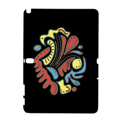 Colorful abstract spot Samsung Galaxy Note 10.1 (P600) Hardshell Case