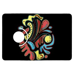 Colorful abstract spot Kindle Fire HDX Flip 360 Case
