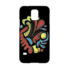 Colorful abstract spot Samsung Galaxy S5 Hardshell Case