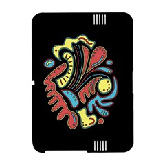 Colorful abstract spot Amazon Kindle Fire (2012) Hardshell Case