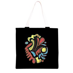 Colorful abstract spot Grocery Light Tote Bag