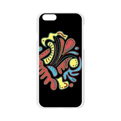 Colorful abstract spot Apple Seamless iPhone 6/6S Case (Transparent)