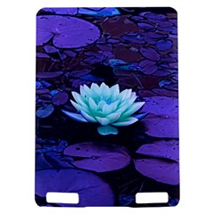 Lotus Flower Magical Colors Purple Blue Turquoise Kindle Touch 3G