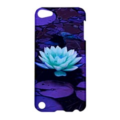 Lotus Flower Magical Colors Purple Blue Turquoise Apple iPod Touch 5 Hardshell Case