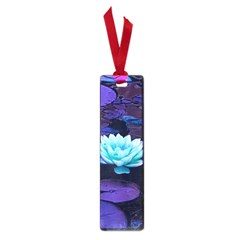 Lotus Flower Magical Colors Purple Blue Turquoise Small Book Marks