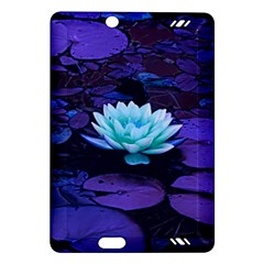 Lotus Flower Magical Colors Purple Blue Turquoise Amazon Kindle Fire HD (2013) Hardshell Case