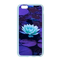 Lotus Flower Magical Colors Purple Blue Turquoise Apple Seamless iPhone 6/6S Case (Color)
