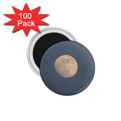 The Moon and blue sky 1.75  Magnets (100 pack)