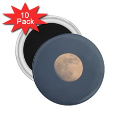 The Moon and blue sky 2.25  Magnets (10 pack)