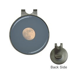 The Moon and blue sky Hat Clips with Golf Markers