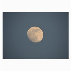 The Moon and blue sky Large Glasses Cloth (2-Side)
