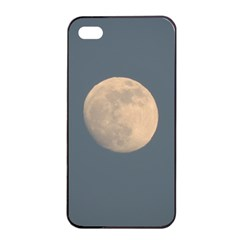 The Moon and blue sky Apple iPhone 4/4s Seamless Case (Black)