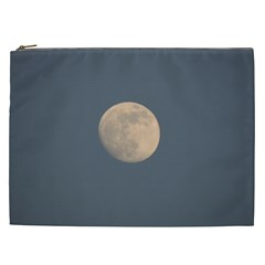The Moon and blue sky Cosmetic Bag (XXL)
