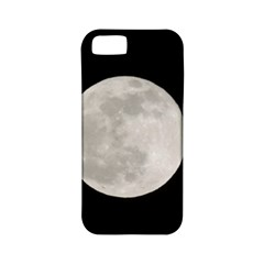 Full Moon at night Apple iPhone 5 Classic Hardshell Case (PC+Silicone)