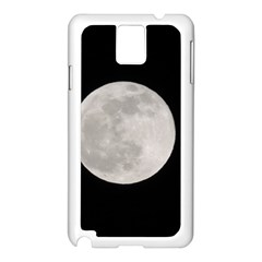Full Moon At Night Samsung Galaxy Note 3 N9005 Case (white)